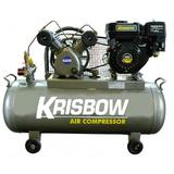 KRISBOW Gasoline Compressor 2Hp [KW1300350] - Kompresor Angin